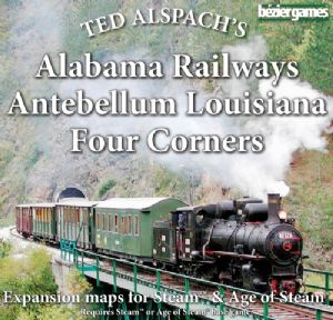 Steam : Alabama Railways & Antebellum Louisiana & Four Corners